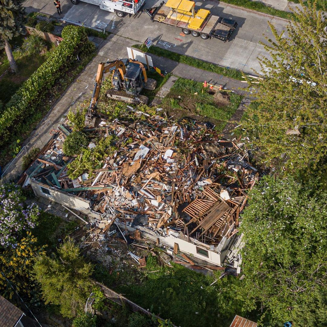 South Seattle Residential Demolition by Rainstate Earthworks