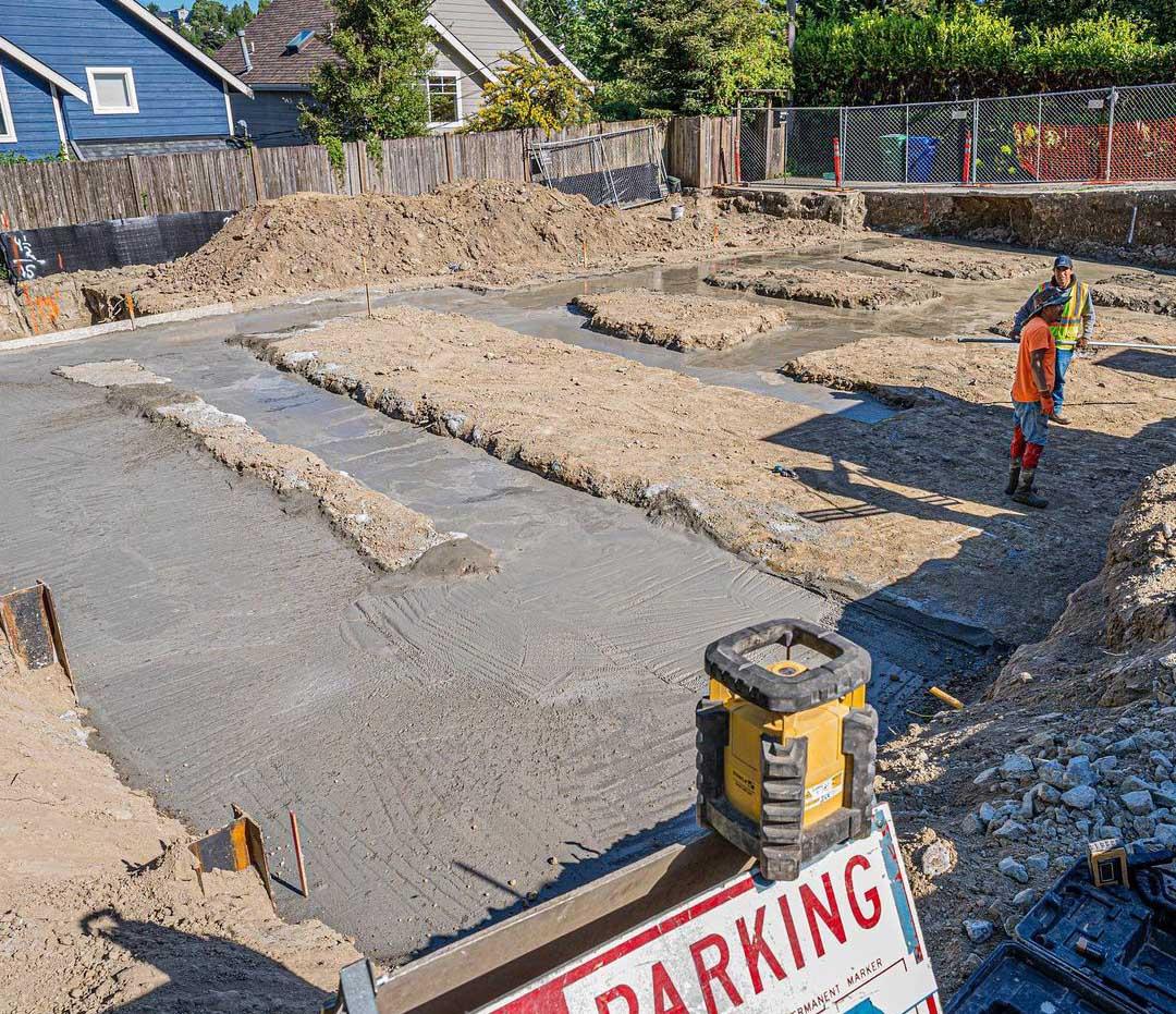 Excavation in Seattle, WA